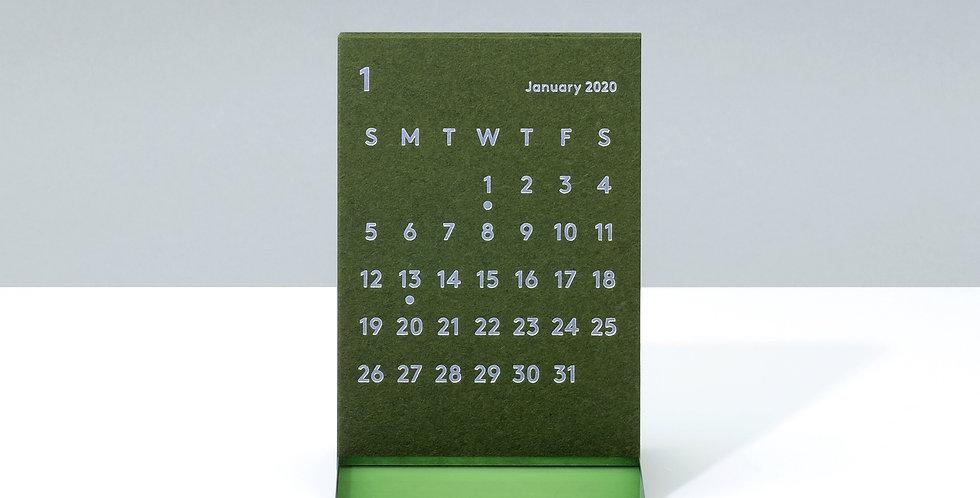 CLARAデスクカレンダー 2020 オリーブ