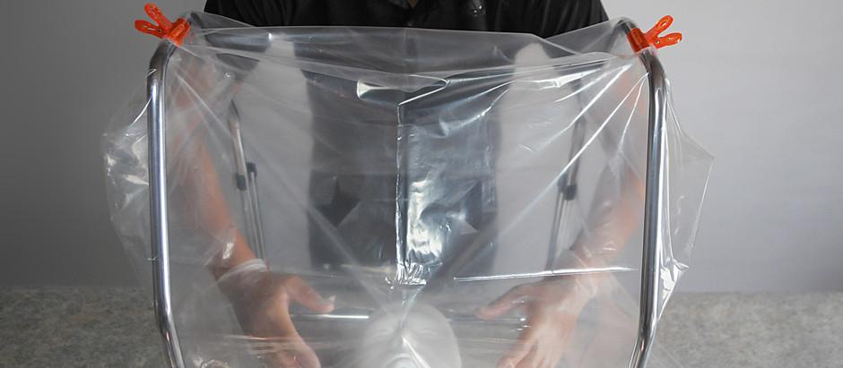 新型コロナウィルスから医療従事者を守る、折りたたみ式「エアロゾルカバーフレーム」を提供開始。丈夫でシンプルな構造。エアロゾルボックスの新しいカタチ。