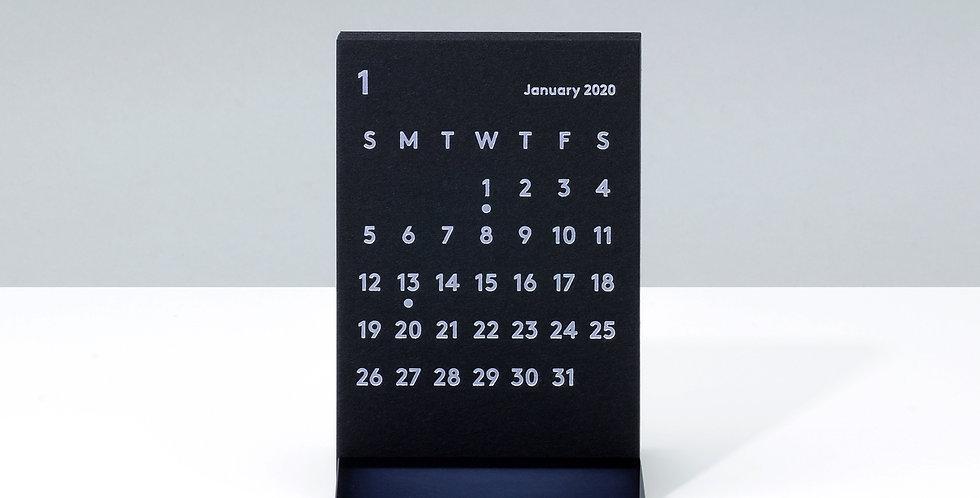 CLARAデスクカレンダー 2020 ブラック