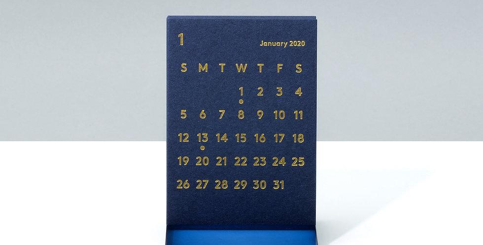 CLARAデスクカレンダー 2020 ネイビー