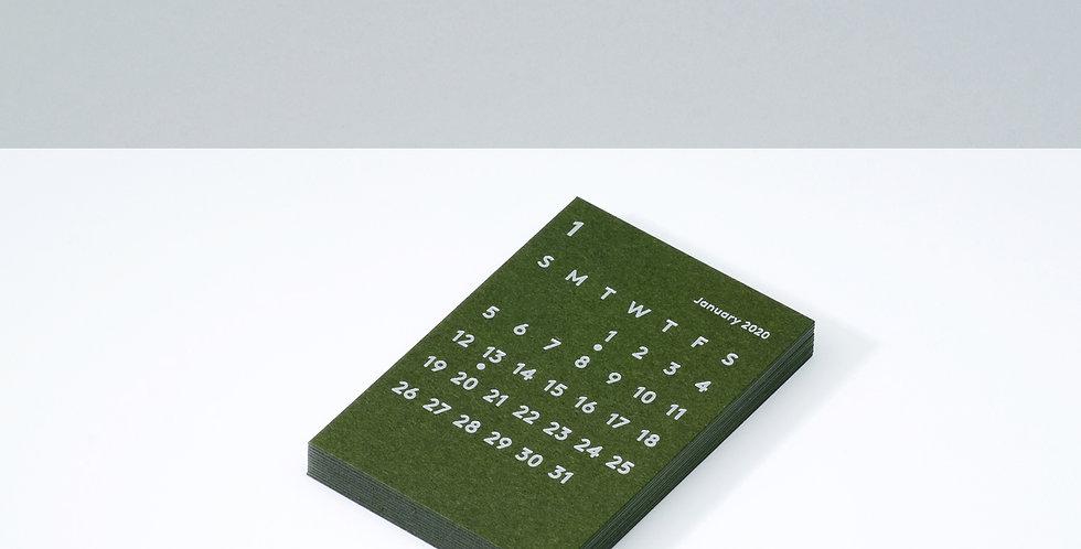 CLARAカレンダーリフィル 2020 オリーブ
