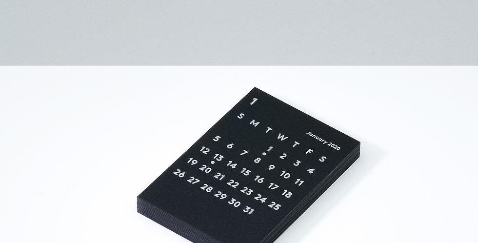 CLARAカレンダーリフィル 2020 ブラック