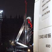 Big Ben Fan Installation