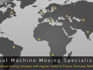 August 2021: Moving Machinery Internationally: How DDK Machine Movers Can Help.