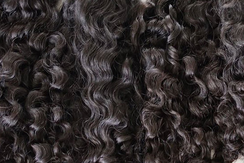 CURLY RAW INDIAN HAIR