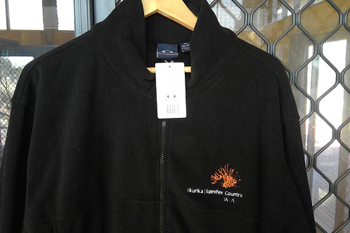 Polo Fleece Jackets with Ilkurlka Spinifex Country logo