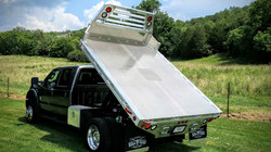 Ford F-550 Flat Dump Bed