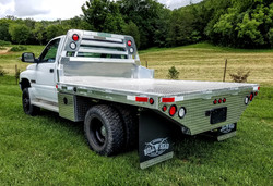 2001 Dodge with Aluminum Truck Bed