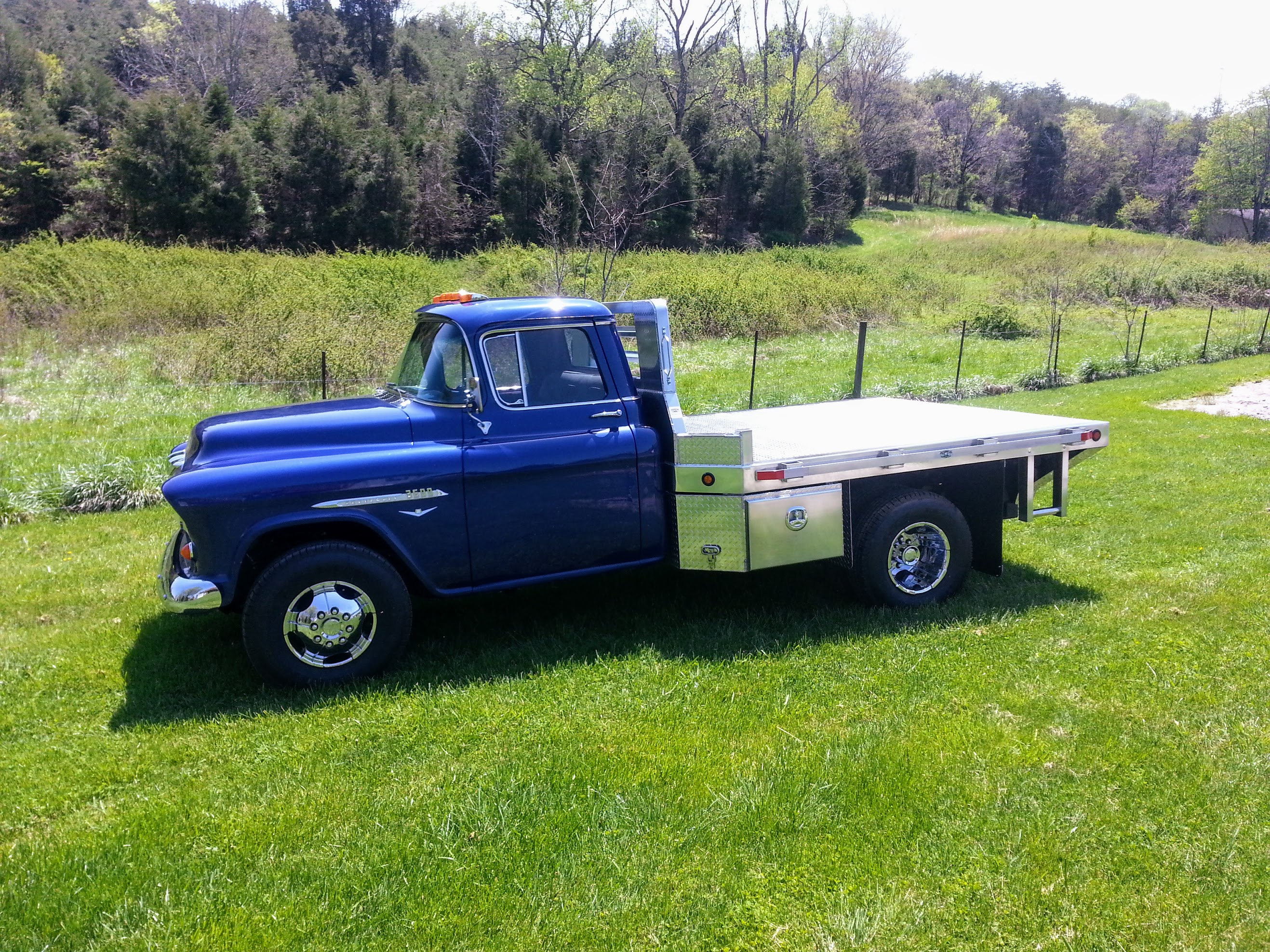 1955 Chevy Flat Bed