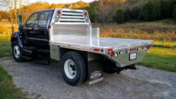 Ford F-650 and F-750 Flat Bed