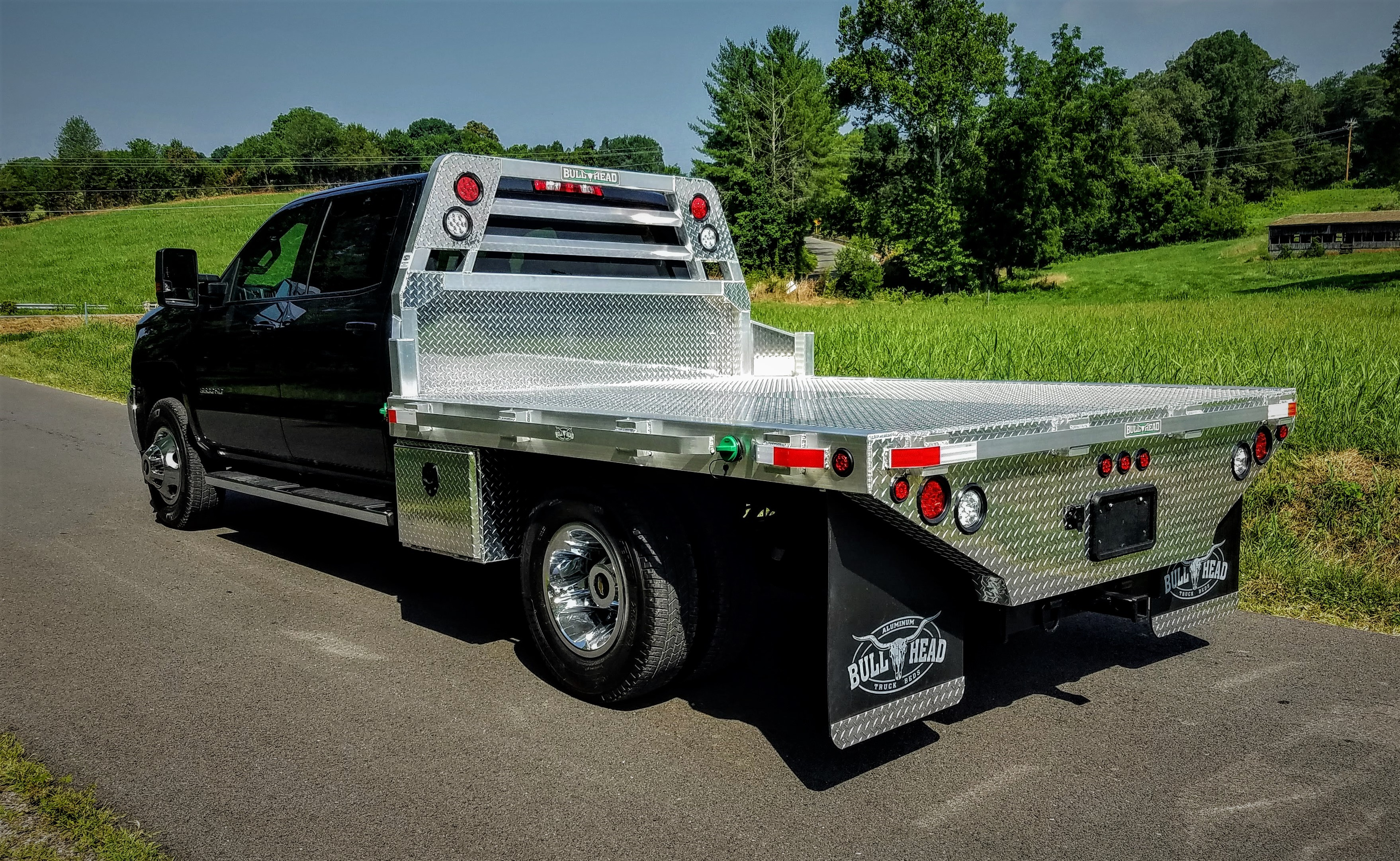 Aluminum Flat Beds For Trucks Kodak Tn Bull Head Products