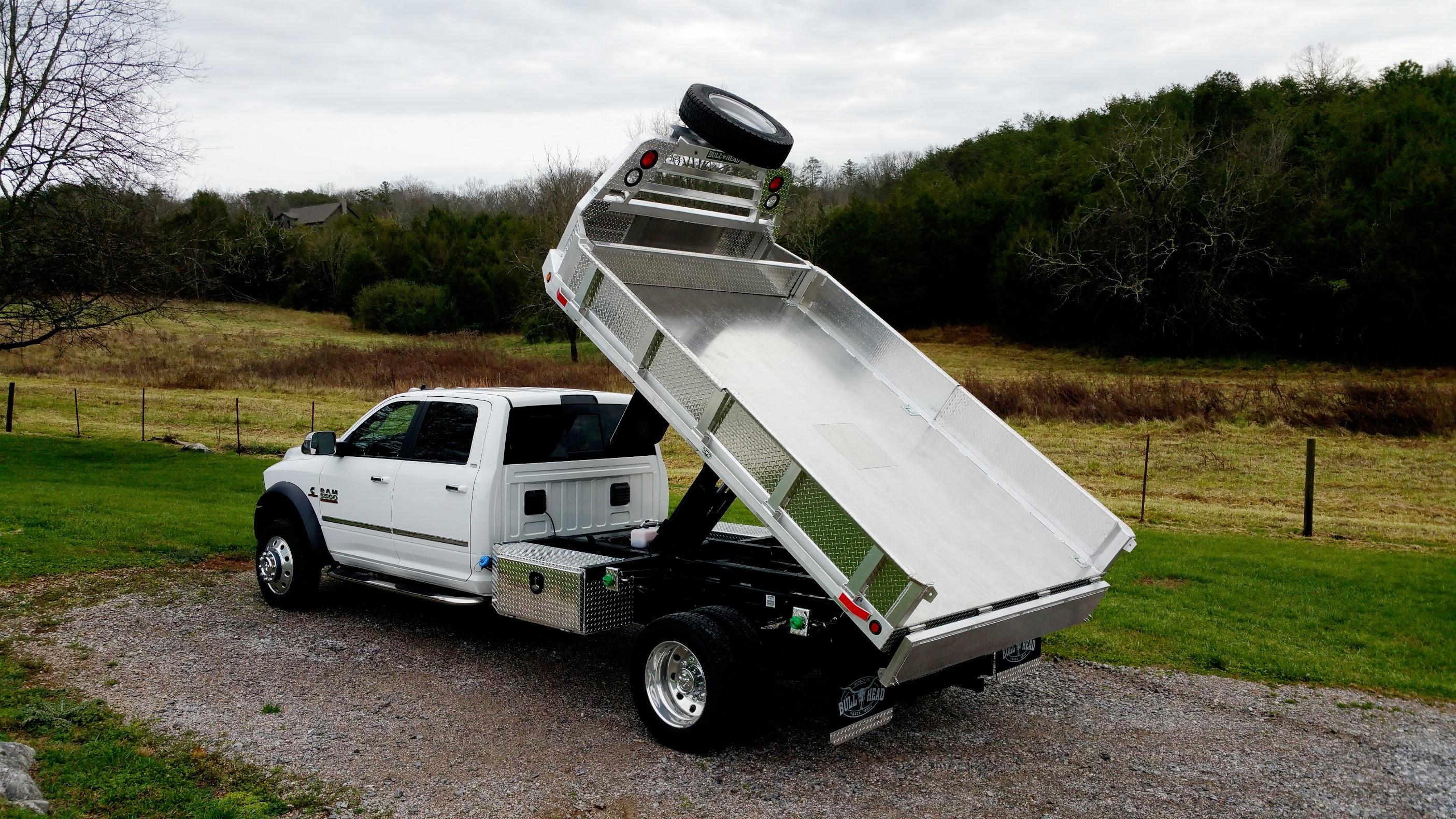 Crew Cab Dodge Dump Bed