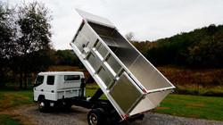 Aluminum Contractor Dump Bed