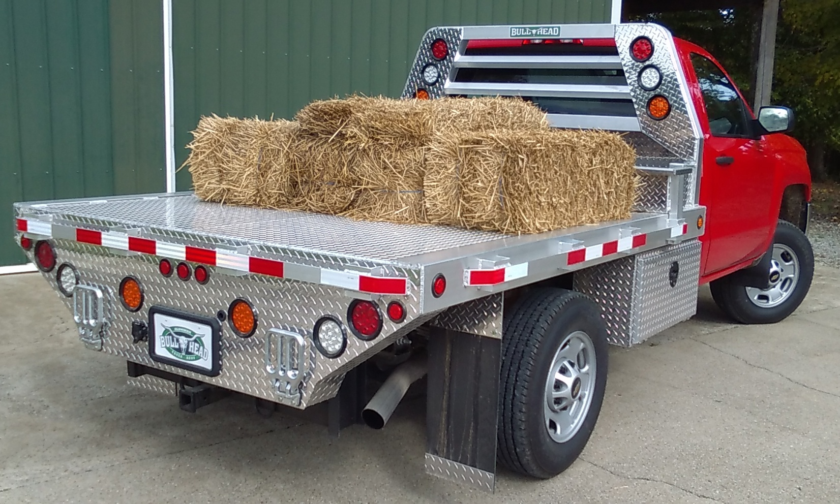 Single Wheel Aluminum Truck Bed