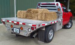 Single Wheel Aluminum Truck Bed