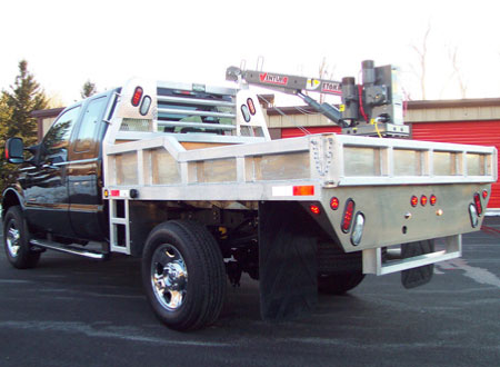 Ford F-350 Crane Bed