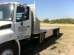 Hino with 28' Custom Truck Bed