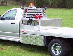 Fuel Tank & Work Lights