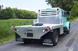 International 4700 With 5th Wheel