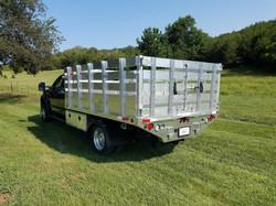 Aluminum Stake Body Dump Bed