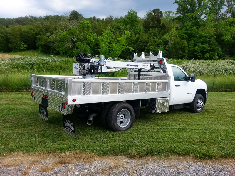 Chevy 3500 Crane Bed
