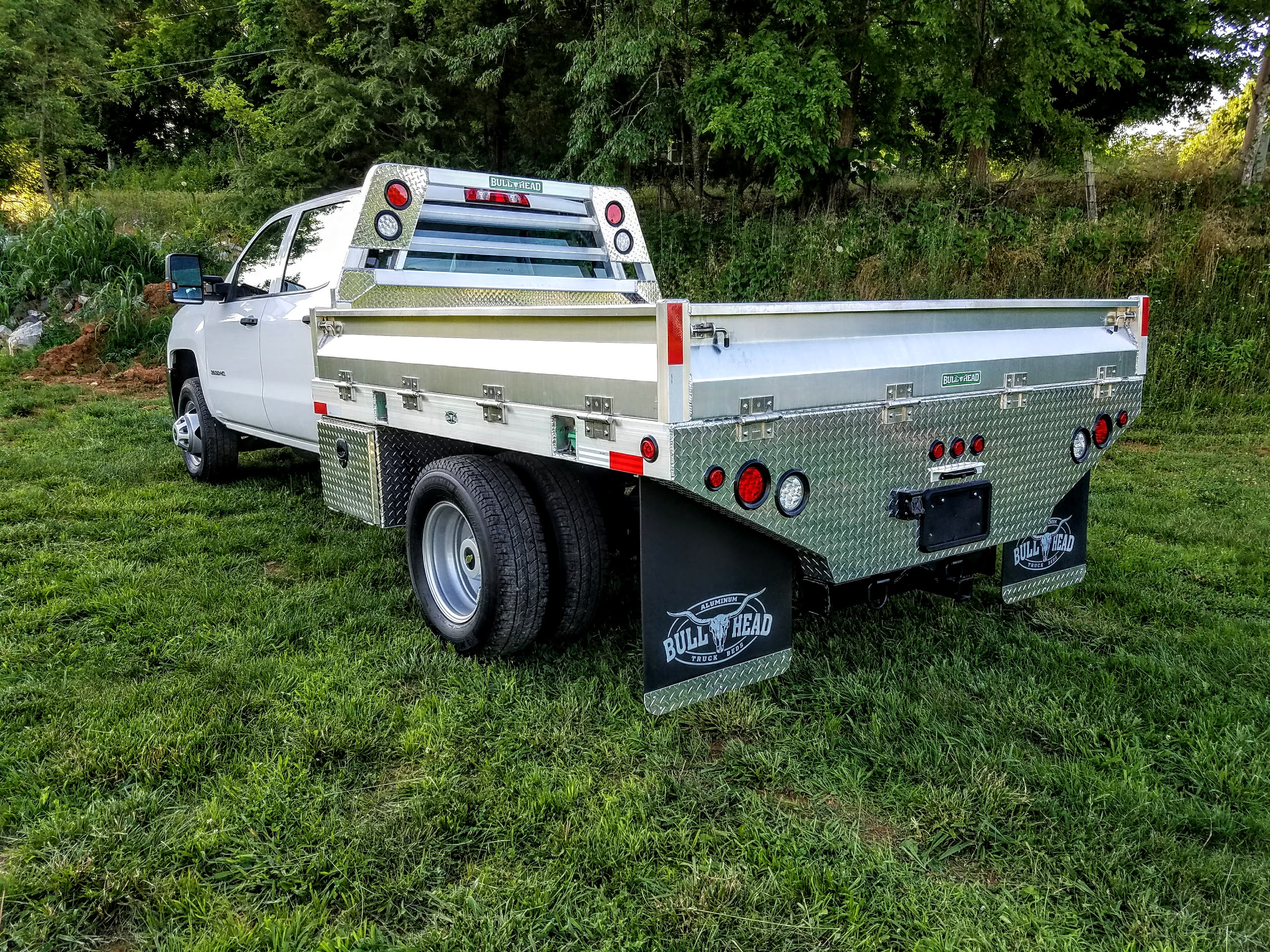 Flat Bed-Fold Down Sides & Tailgate