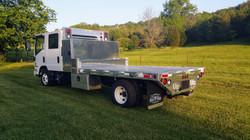 Isuzu Aluminum Truck Body
