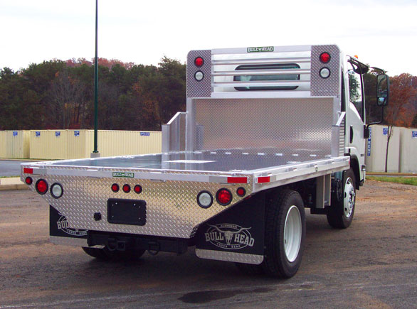 Isuzu NRR Truck Bed