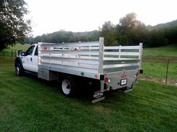Ford F-450 and F-550 Stake Body