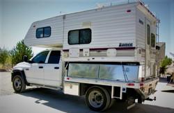 Truck Camper Flatbed