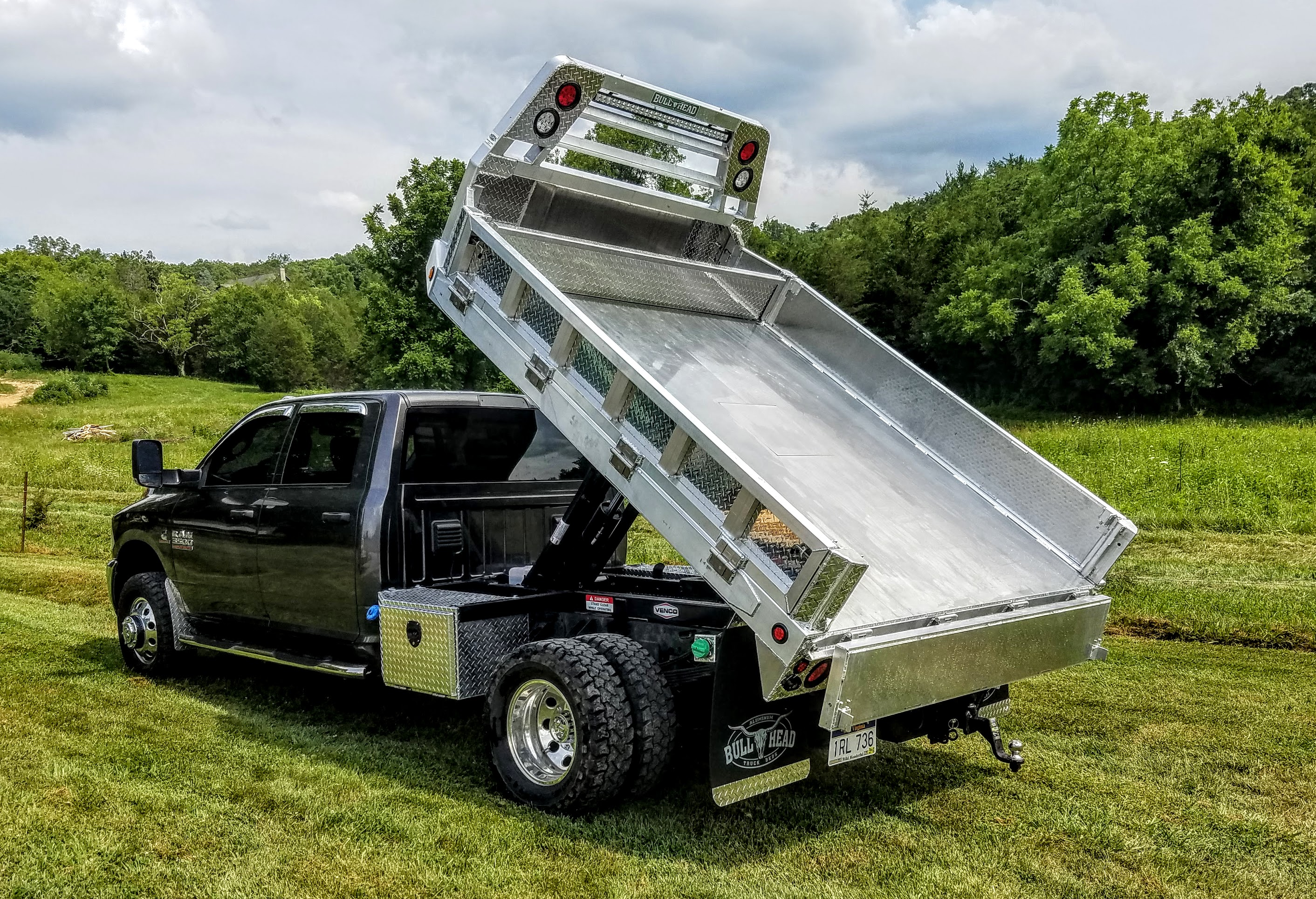 Custom Aluminum Dump Bed