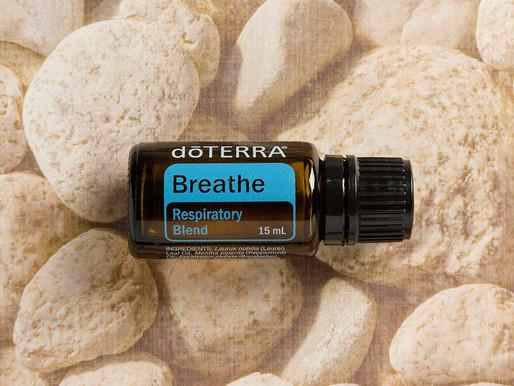 Miscela respiratoria breathe doTerra!