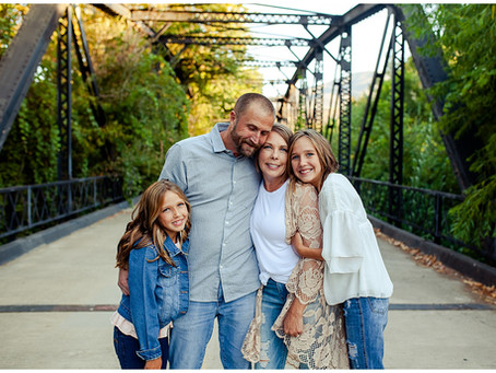 Family of Four Fall Photos | San Diego Family Photographer
