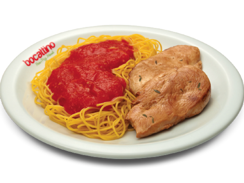Frango com Spaghetti Al Sugo
