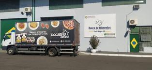 Entrega das Doações no Banco de Alimentos