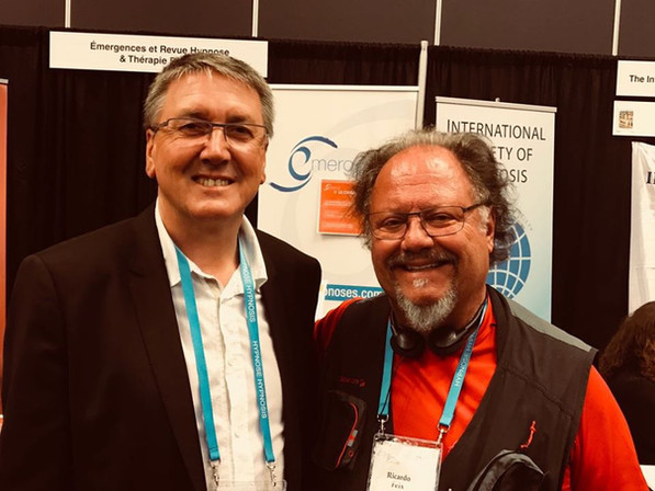 Dr. Ricardo Feix com Claude Virot, presidente da ISH