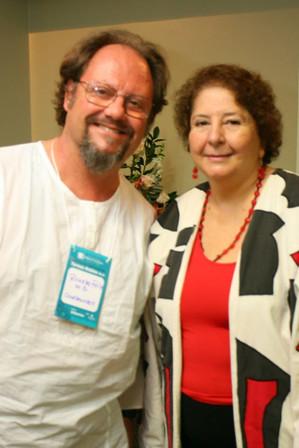 Dr. Ricardo Feix com Teresa Robles