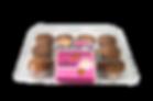 Abes Vegan Muffins Cranberry Orange Zest - 12 pack