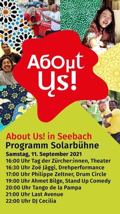 About Us! Festival Zürich Seebach