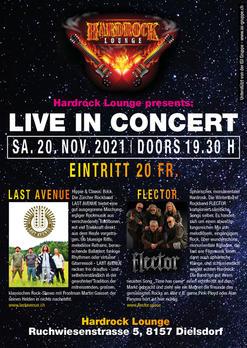 Hardrock Lounge Dielsdorf ZH - LAST AVENUE & FLECTOR
