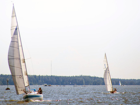 Öskaret avslutar seglingssäsongen