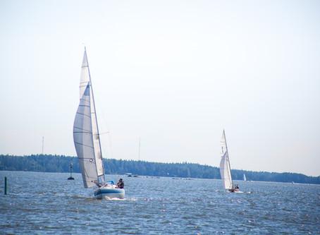 Small Ship's Race tarjosi dramatiikkaa ja yllätyksiä
