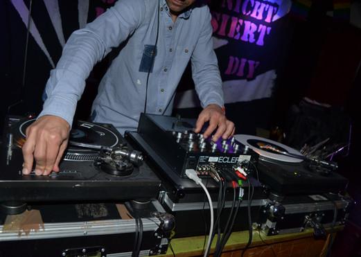 DJ «Die Grimen» in Action