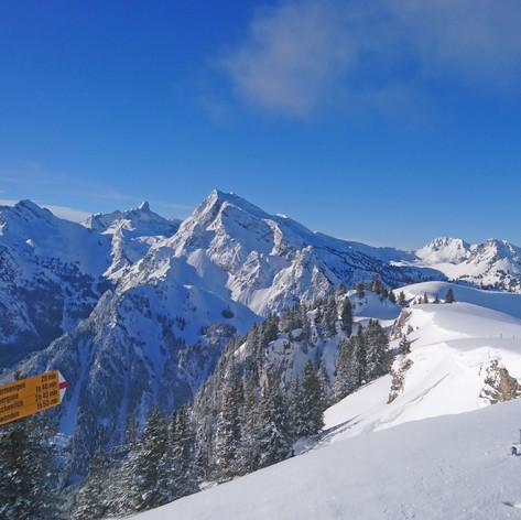 L-ways Schneeschuhtour