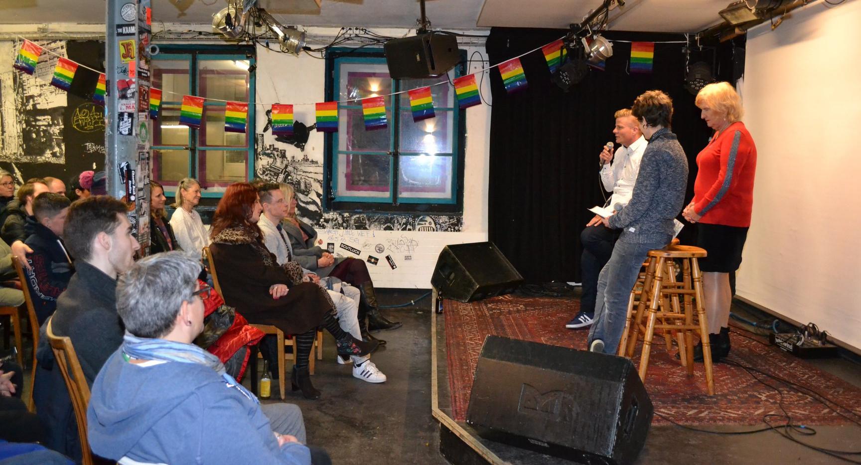 Talk mit Transmann Phippu und Transfrau Petra, Moderation Marga