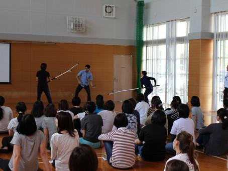 ●筑紫っ子ネットワーク防犯教室の実施