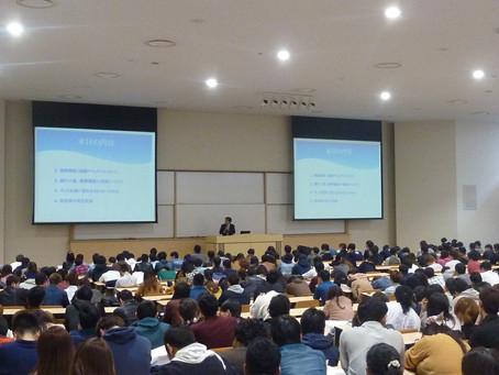 ●大学生に対する防犯講話