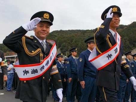●筑紫地区年末年始特別警戒パトロール隊出陣式の開催