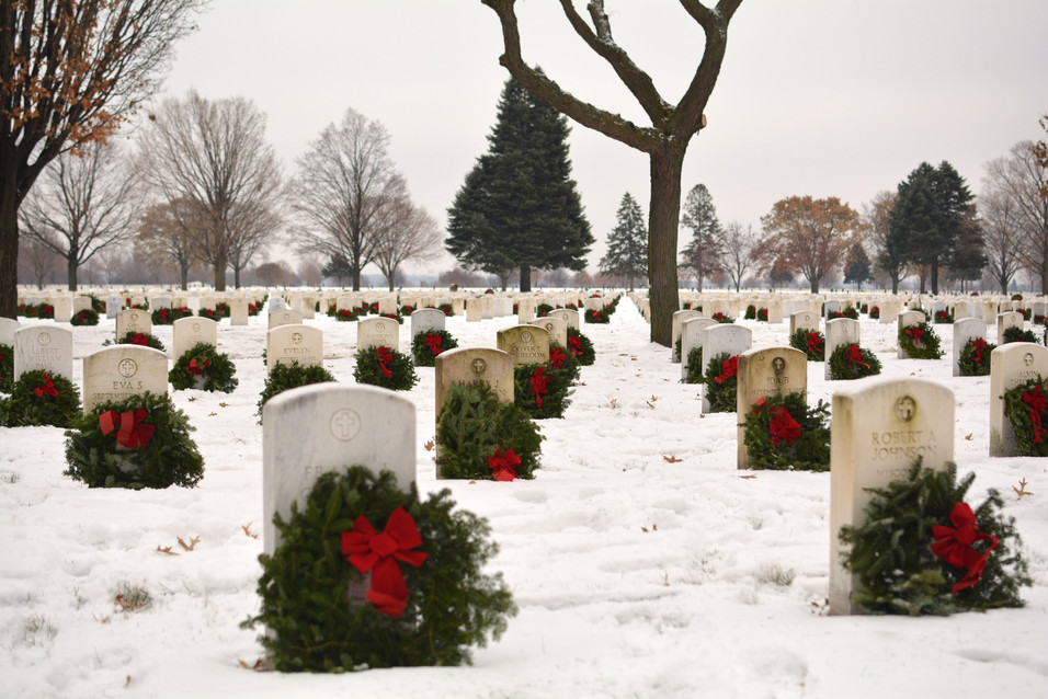 Wreaths Across America, Fort Snelling National Cemetery