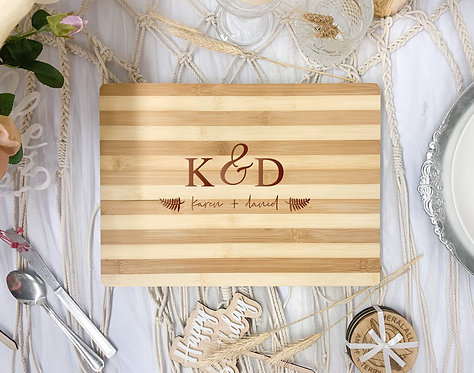 Engraved Board - Custom Names